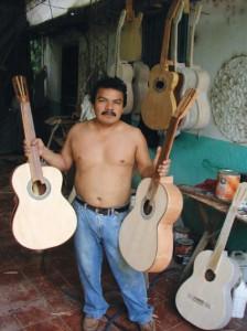 Salvadorian Guitar Maker